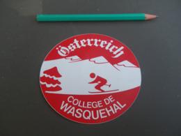 Autocollant - Ville - WASQUEHAL AUTRICHE - Stickers
