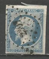 FRANCE - Oblitération Petits Chiffres LP 2397 LE PELLERIN (Loire-Atlantique) - 1849-1876: Période Classique