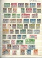 PHILIPPINES, Administration Américaine, Lot Sur 2 Pages - Briefmarken