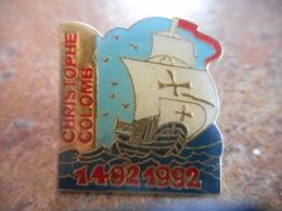 A043 -- Pin's Christophe Colombes X 5 - Boten