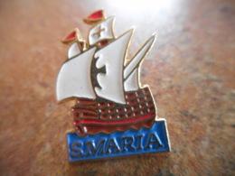 A043 -- Pin's S. Maria - Barcos