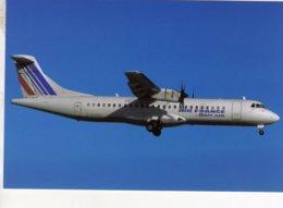 Air France/Brit Air  -  ATR.72.201  -  F.GHPV  C/n 234 At Nantes 2000     -  CPM - 1946-....: Ere Moderne