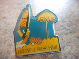 A043 -- Pin's Camping Le Rochelongue - Villes