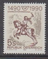 Austria 1990 500Y European Post 1v  ** Mnh (44777) - Europese Gedachte