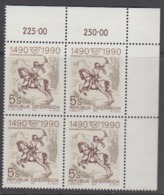 Austria 1990 500Y European Post 1v Bl Of 4 (corner) ** Mnh (44777D) - Europese Gedachte