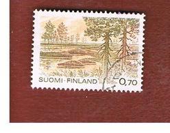 FINLANDIA (FINLAND) -  SG 979        -    1981  NATIONAL PARK: KAUHANEVA          -   USED ° - Usados