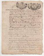 Bretagne Vannes 1712 Apposition De Scellés Après Décès Jean Querio Maitre Chirurgien - Manuscrits