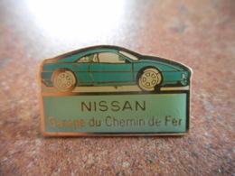 A044 -- Pin's Nissan Garage Du Chemin De Fer -- Dernier Vendu 10/2015 - Pin's