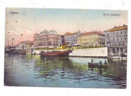 HR 51000 RIJEKA / FIUME, Riva Szapary, MS CODOLLO, 1912 - Kroatien