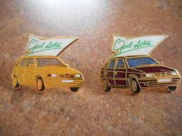 A044 -- 2 Pin's Opel Astra - Opel