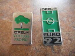 A044 -- 2 Pin's Opel - Opel
