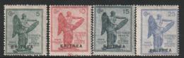 ERYTHREE - N°50/53 **  (1922) Victoire - Eritrea