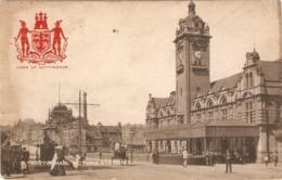 """Nottingham. Victoria Station"" Tuck Heraldic View Ser. PC # 2128 - Tuck, Raphael"
