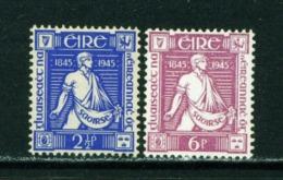 IRELAND  -  1945 Thomas Davis Set Unmounted/Never Hinged Mint - 1937-1949 Éire