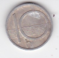 Tchequie , 1993, 10 H , Coin - Repubblica Ceca