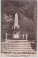 Lesquielles-Saint-Germain (Aisne) - Le Monument Aux Morts - France