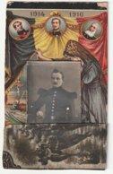 ARMEE BELGE - FAIRE PART DE LA MORT D' UN BRAVE ( Petite Photo, Le Tout 10cm X 6,50 Cm  ) - Weltkrieg 1914-18