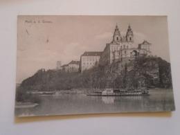 D168297  Austria  MELK An Der Donau  -dampfer Steamer  Ca 1910 - Melk