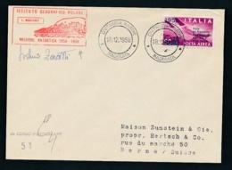 Antartis Beleg Signiert.... (op137  ) Siehe Scan - Briefmarken