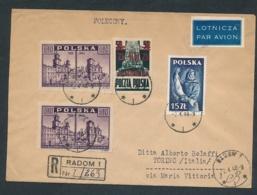 Polen Beleg Von 1948.... (op138  ) Siehe Scan - Lettres & Documents