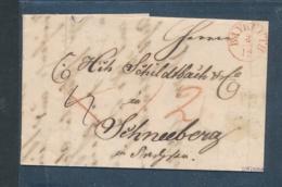 Bayern-uralter Heimat Beleg/ Bayreuth   ... -bitte Lesen !!    (op287  ) Siehe Scan - Bayern