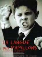 AFFICHE DE CINEMA LA LANGUE DES PAPILLONS - Affiches