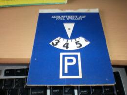 P Parking Ankunftszeit Auf Pfeil Stellen - Otros