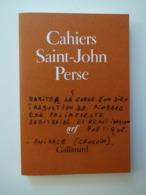 CAHIERS DE SAINT JOHN PERSE N° 5...ED.GALLIMARD 1982 - Poëzie
