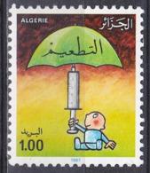 Algerien Algeria Algerie 1987 Medizin Medicine Gesundheit Health Impfung Impfen Vaccination WHO UNO ONU, Mi. 937 ** - Argelia (1962-...)