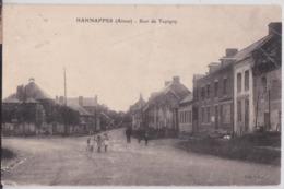 HANNAPPES (Aisne) - Rue De Tupigny - Boucherie - Bascule Publique - France