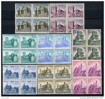 España 1966. Edifil 1738-45 X 4 ** MNH. - 1961-70 Nuevos & Fijasellos