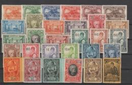 Portugal 1925  Série C Castelo Branco 334 à 364 Sauf 358 (2e Vert) 30 Val ** MNH - 1910-... République