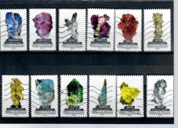 Yt AA1218-1 A 1229-le Monde Mineral-pierres-serie Complete - Luchtpost