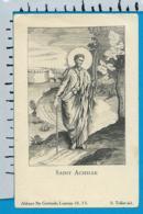 Holycard   St. Gertrude   St. Achille - Devotion Images
