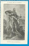 Holycard   St. Olaf Van Norwegen - Andachtsbilder