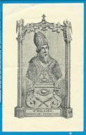Holycard   St. Hilarius  Thimmougies - Andachtsbilder