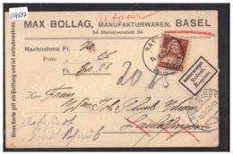 BASEL - MANUFAKTURWAREN MAX BOLLAG - TB - BS Bâle-Ville