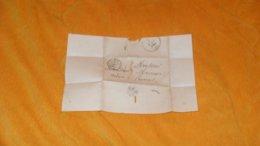 DEVANT DE LETTRE ANCIENNE DE 1844.../ CACHETS PARIS POUR PROVINS...+ TAXE.. - 1801-1848: Précurseurs XIX