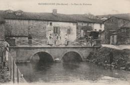 Baudrecourt,le Pont Du Blaiseron,charette - Autres Communes