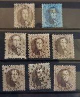 Belgique COB N°14 Et 15 Oblit. - 1863-1864 Médaillons (13/16)