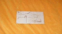 LETTRE ANCIENNE DE 1836.../ CACHETS ANGERS POUR SAUMUR...+ TAXE.. - 1801-1848: Précurseurs XIX