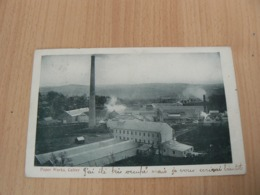 CP 80 / ROYAUME UNI / PAPER WORKS CULTER /  CARTE VOYAGEE - Royaume-Uni