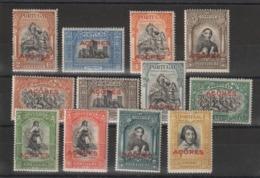 Portugal Acores 1927  Série Tricentenaire De L'indépendance 271 à 282 12 Val ** MNH - Açores