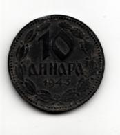 SERBIA WWII - 10 DINARA 1943 - Serbia