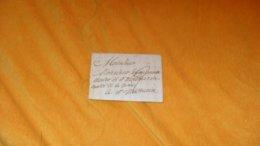 LETTRE ANCIENNE DE 1820...../ MARQUE EN ROUGE ANGERS ?..POUR ST MATHURIN...+ TAXE.. - 1801-1848: Précurseurs XIX