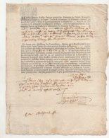 Bretagne 1679 Déclaration Greffe De La Réformation Du Domaine D' Auray - Manuscrits