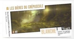 Etiquette De Bière  Blanche  Du Crépuscule  - Saint Julien Sur Reyssouze  (01) - Bière