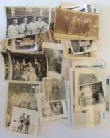 Lot D'environ 50 Photos Anciennes De Personnes (femmes, Hommes, Enfants) Principalement - Pour étude - Personnes Anonymes