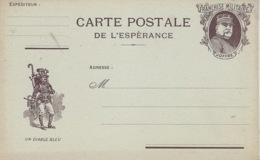 """CARTE POSTALE  De L'Espérance  """" Un Diable Bleu    """" Coloris Bistre     NEUVE - Storia Postale"""