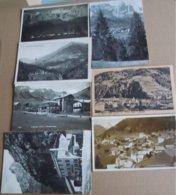 7 CARTOLINE AGORDINO ARABBA ANDRAZ FRASSENE LIVINALLONGO 1925 1927 45 - Belluno